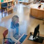 Malin-i-biblioteket
